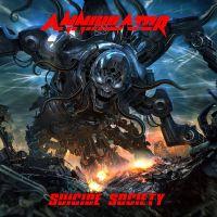 Cover Annihilator - Suicide Society