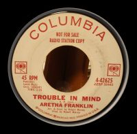 Cover Aretha Franklin - Trouble In Mind