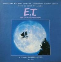 Cover Audiobook / Michael Jackson / John Williams - E.T. The Extra-Terrestrial