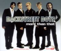 Cover Backstreet Boys - More Than That