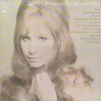 Cover Barbra Streisand - Barbra Streisand's Greatest Hits