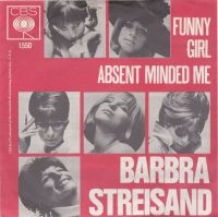 Cover Barbra Streisand - Funny Girl