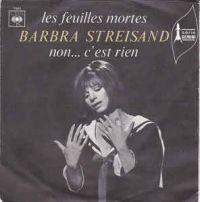 Cover Barbra Streisand - Les feuilles mortes (Autumn Leaves)