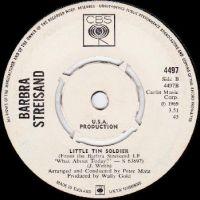Cover Barbra Streisand - Little Tin Soldier