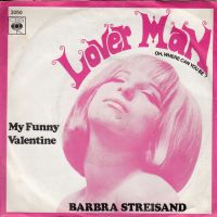 Cover Barbra Streisand - Lover Man (Oh, Where Can You Be)