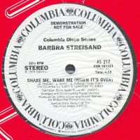 Cover Barbra Streisand - Shake Me, Wake Me (When It's Over)