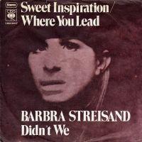 Cover Barbra Streisand - Sweet Inspiration / Where You Lead