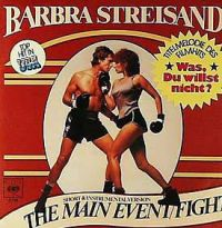 Cover Barbra Streisand - The Main Event / Fight