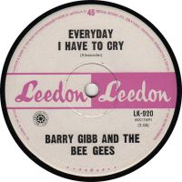 Cover Barry Gibb And The Bee Gees - Everyday I Have To Cry