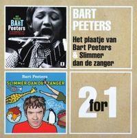 Cover Bart Peeters - 2 For 1: Het plaatje van Bart Peeters / Slimmer dan de zanger