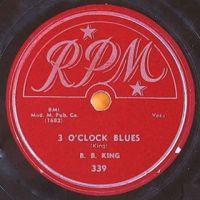 Cover B.B. King - 3 O'Clock Blues