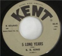 Cover B.B. King - 5 Long Years