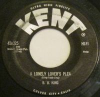 Cover B.B. King - A Lonely Lover's Plea