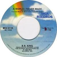 Cover B.B. King - A World I Never Made