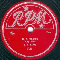 Cover B.B. King - B.B. Blues