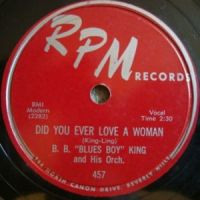 Cover B.B. King - Did You Ever Love A Woman