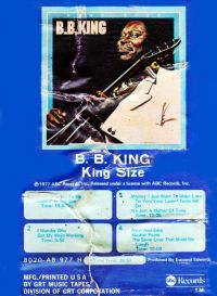 Cover B.B. King - King Size