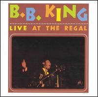 Cover B.B. King - Live At The Regal