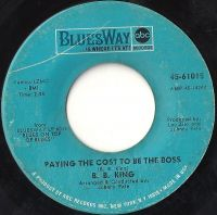 Cover B.B. King - Paying The Cost To Be The Boss