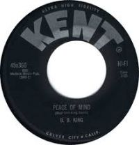 Cover B.B. King - Peace Of Mind