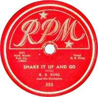 Cover B.B. King - Shake It Up And Go