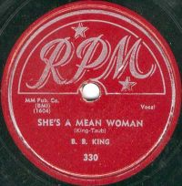 Cover B.B. King - She's A Mean Woman