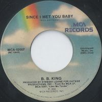 Cover B.B. King - Since I Met You Baby