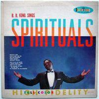 Cover B.B. King - Sings Spirituals
