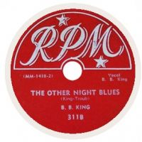 Cover B.B. King - The Other Night Blues