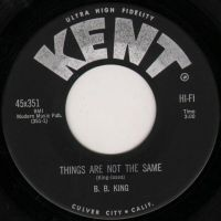 Cover B.B. King - Things Are Not The Same
