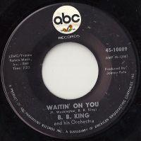 Cover B.B. King - Waitin' On You