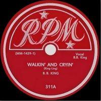Cover B.B. King - Walkin' And Cryin'