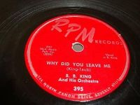 Cover B.B. King - Why Did You Leave Me