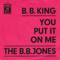 Cover B.B. King - You Put It On Me