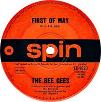 Cover Bee Gees - First Of May