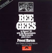 Cover Bee Gees - In Concert '68 With The Massachusetts String Orchestra, Guest Stars: Procol Harum
