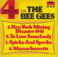 Cover Bee Gees - New York Mining Disaster 1941