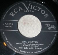 Cover Benny Carter And His Orchestra - Blue Mountain
