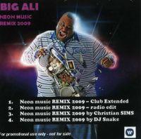 Cover Big Ali - Neon Music Remix 2009