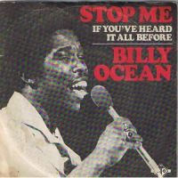 Cover Billy Ocean - Stop Me (If You've Heard It All Before)