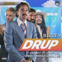 Cover Bizzey, Kraantje Pappie, Jonna Fraser & Ramiks - Drup