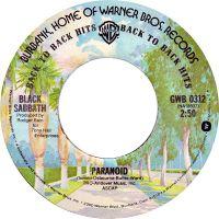 Cover Black Sabbath - Paranoid