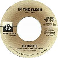 Cover Blondie - In The Flesh