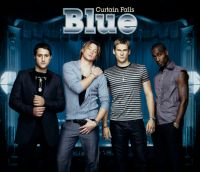 Cover Blue - Curtain Falls