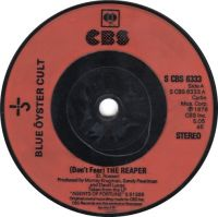 Cover Blue Öyster Cult - (Don't Fear) The Reaper