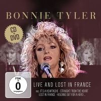 Cover Bonnie Tyler - Live And Lost In France