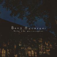 Cover Bony Macaroni - Bony The Philosopher