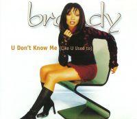 Cover Brandy - U Don't Know Me (Like U Used To)