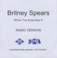 Cover Britney Spears - When Your Eyes Say It