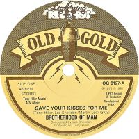 Cover Brotherhood Of Man - Save Your Kisses For Me